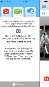 No Pitch Cams My Action Replay