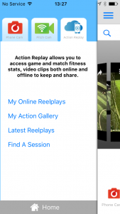 ios_homePage_ActionReplay My Action Replay