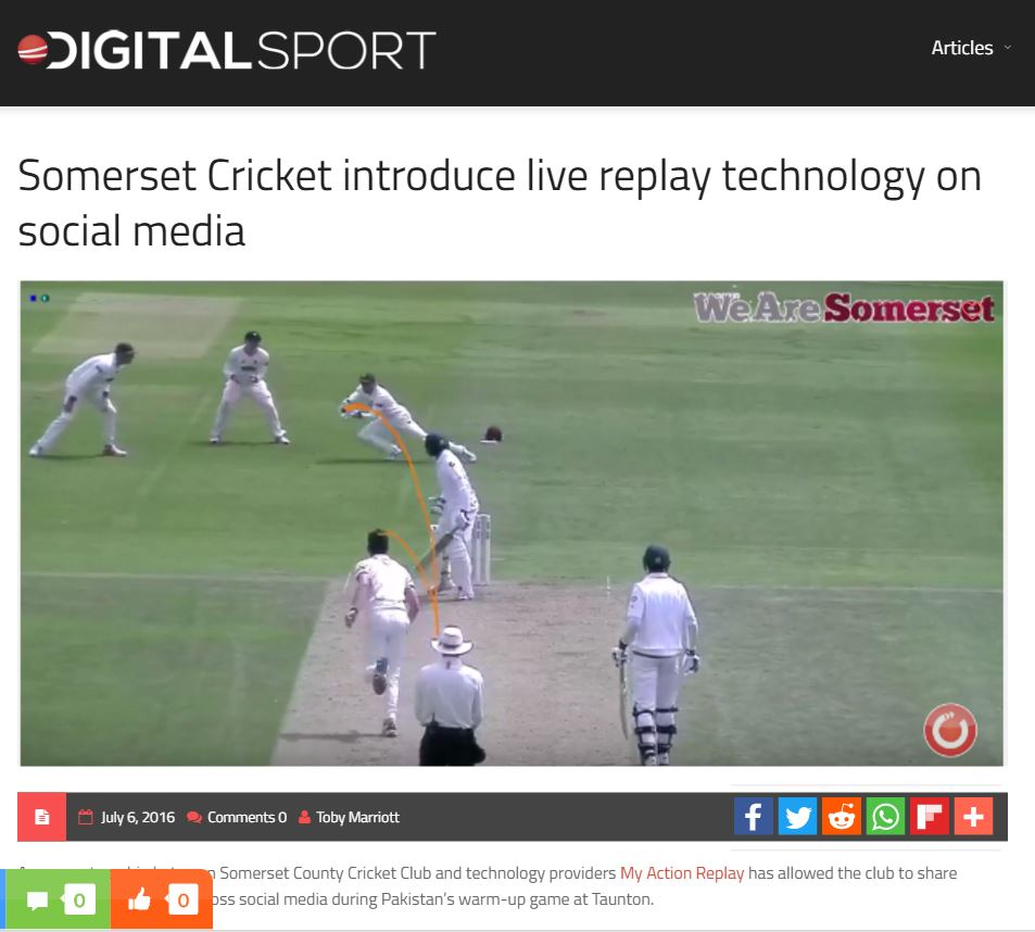 Digital Sport Snapshot